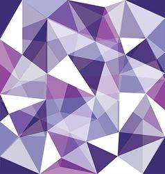 Low polygon purple overlay vector