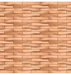 Oak parquet wooden seamless pattern background vector