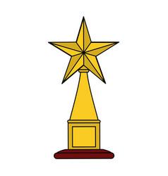trophy icon image vector image