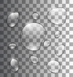 Water Abstract Grey Background vector image