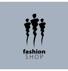 Logo girls vector