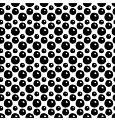 Abstract Polka Dot Seamless Pattern vector image