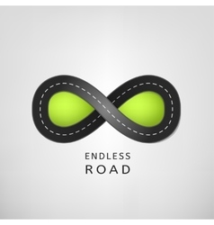 Endless road 02 a vector