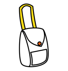 Female hand bag icon vector