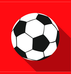 football icon flate single sport icon from the vector image