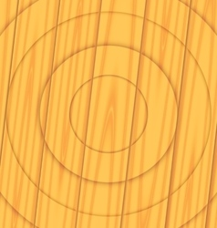Wooden texture boards concentric circles vector