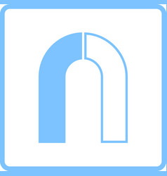 magnet icon vector image