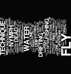 The dead drift text background word cloud concept vector