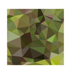 Pistachio green abstract low polygon background vector