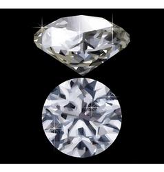 diamond vector image