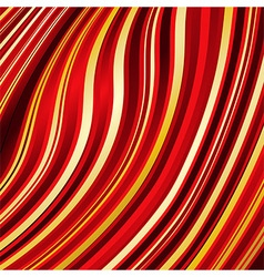 Warped lines background vector image