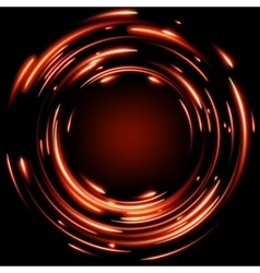 Abstract glowing background EPS 10 vector image vector image