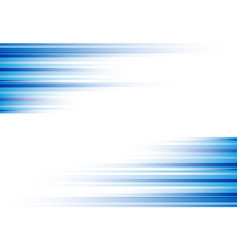blue abstract horizonal lines background vector image vector image