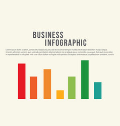 Business infographic diagram design collection vector