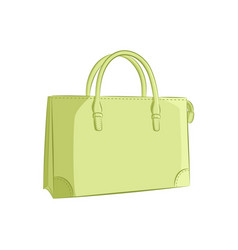 Elegant women handbag fashion accessories the vector