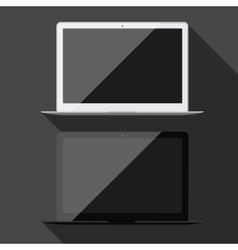 Laptop isolated vector image vector image
