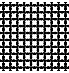 Stars and ovals geometric seamless pattern 903 vector image