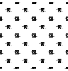 Sword box pattern simple style vector image vector image