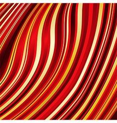 Warped lines background vector