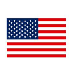 united states flag icon vector image