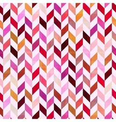 seamless geometric chevron pattern vector image