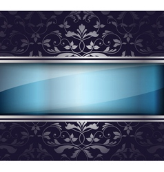 abstract glass banner vector image
