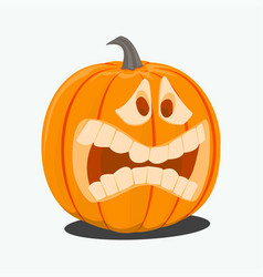 color of cartoon halloween vector image