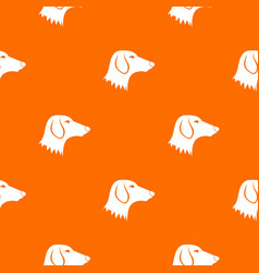 Dachshund dog pattern seamless vector