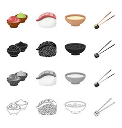restaurant cafe national and other web icon in vector image vector image