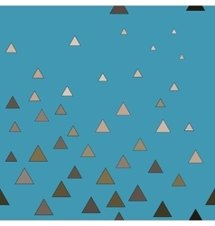 Triangle beige seamless pattern vector