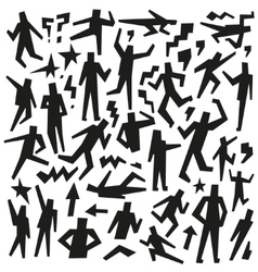 People - doodles set vector