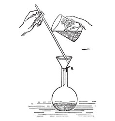 Chemistry devices vintage vector