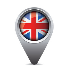Uk pointer flag vector