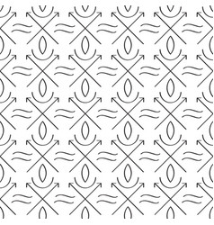 Sacred geometry seamless pattern vector