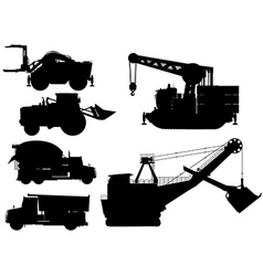 Minning construction machine set vector