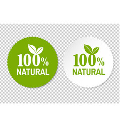 Natural label vector