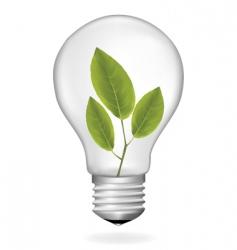 Ecology bulb vector
