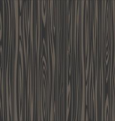 Black wooden texture vector image vector image