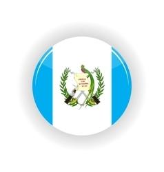 Guatemala icon circle vector image