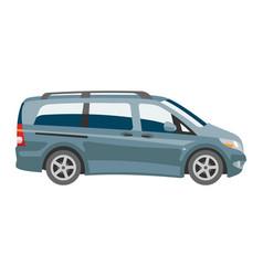 Minivan car van auto vehicle family minibus vector