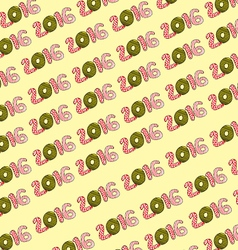 2016 Pattern Background vector image