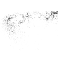 Grainy texture on a white vector