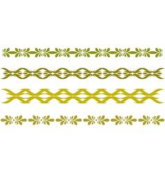 abstract border vector image vector image