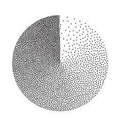 Abstract geometric shape film grain noise vector