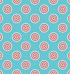 Targets seamless pattern vector image vector image