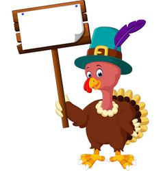 Turkey bird cartoon vector