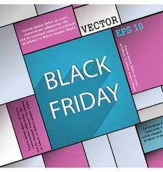 Black friday icon symbol flat modern web design vector