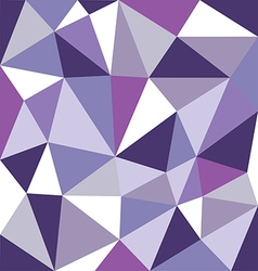 Low polygon purple tone vector