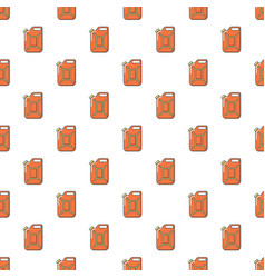 Canister of gasoline pattern seamless vector