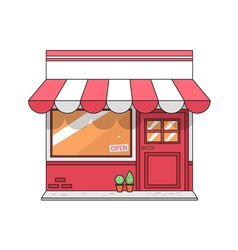 graphic store vector image